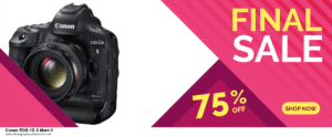 19 Best Black Friday Canon EOS-1D X Mark II Deals 2020 [Up to 40% OFF] 2020