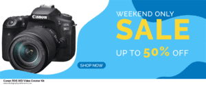 19 Best Black Friday Canon EOS 90D Video Creator Kit Deals 2020 [Up to 40% OFF] 2020