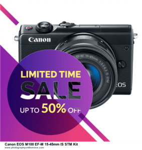 List of 10 Best Black Friday Canon EOS M100 EF-M 15-45mm IS STM Kit Deals 2020