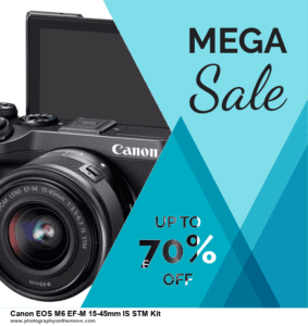15 Best Black Friday Canon EOS M6 EF-M 15-45mm IS STM Kit Deals 2020 | 40% OFF