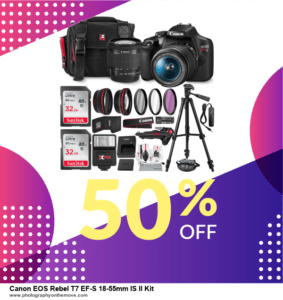 19 Best Black Friday Canon EOS Rebel T7 EF-S 18-55mm IS II Kit Deals 2020 [Up to 40% OFF] 2020