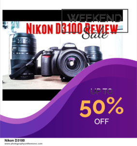 17 Best Nikon D3100 Black Friday Deals [Up to 30% Discount] 2020